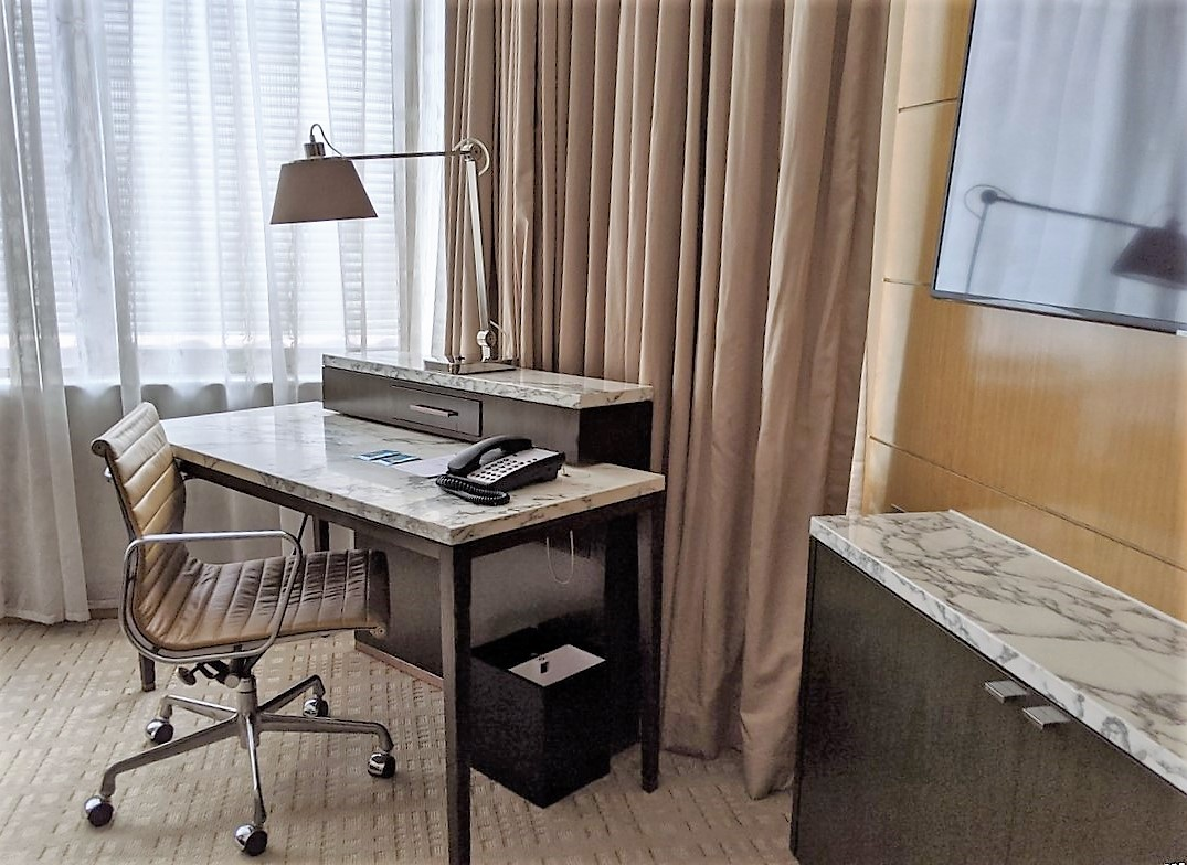 staycation at Marriott Tang Plaza Hotel