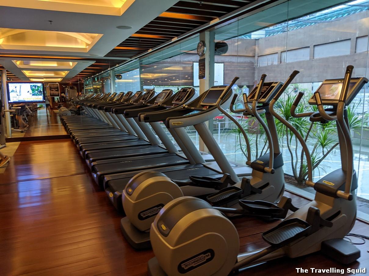 gym tang marriott hotel singapore