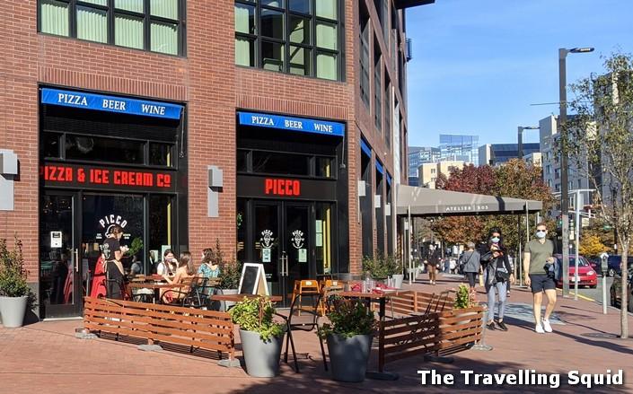 Review of Picco Pizza and Ice Cream in Boston