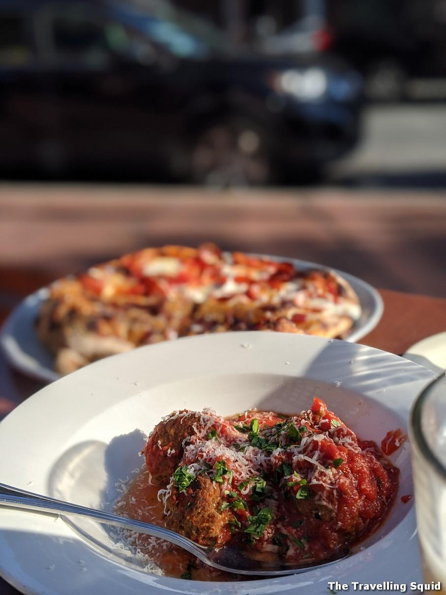 meatballs Review of Picco Pizza and Ice Cream in Boston