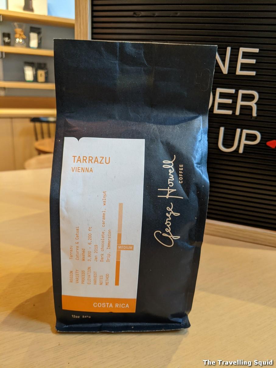 tarazzu George Howell coffee roasters