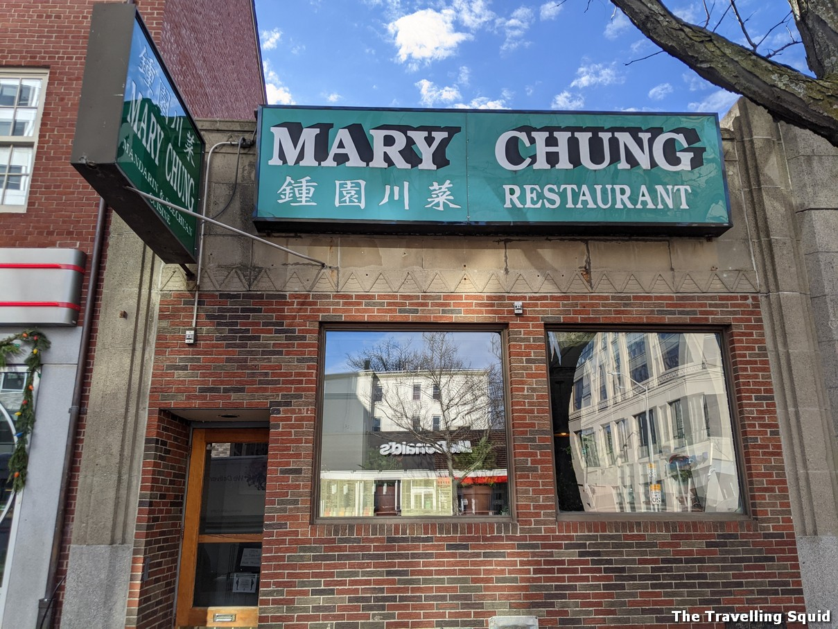 Chinese takeout from Mary Chung in Cambridge