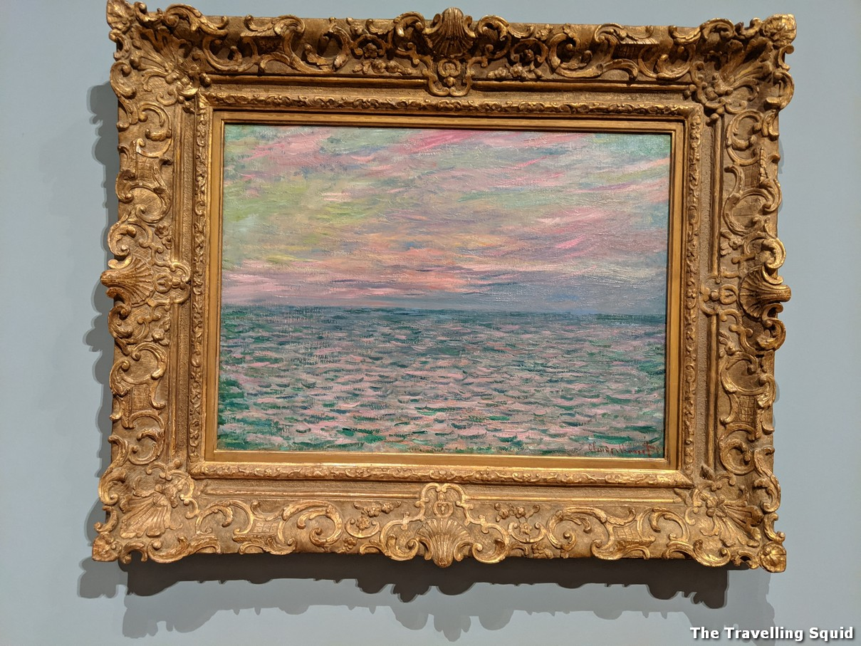 monet sunset on the sea 1882