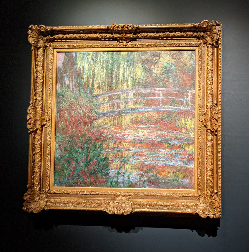 The Water Lily Pond monet and boston mfa