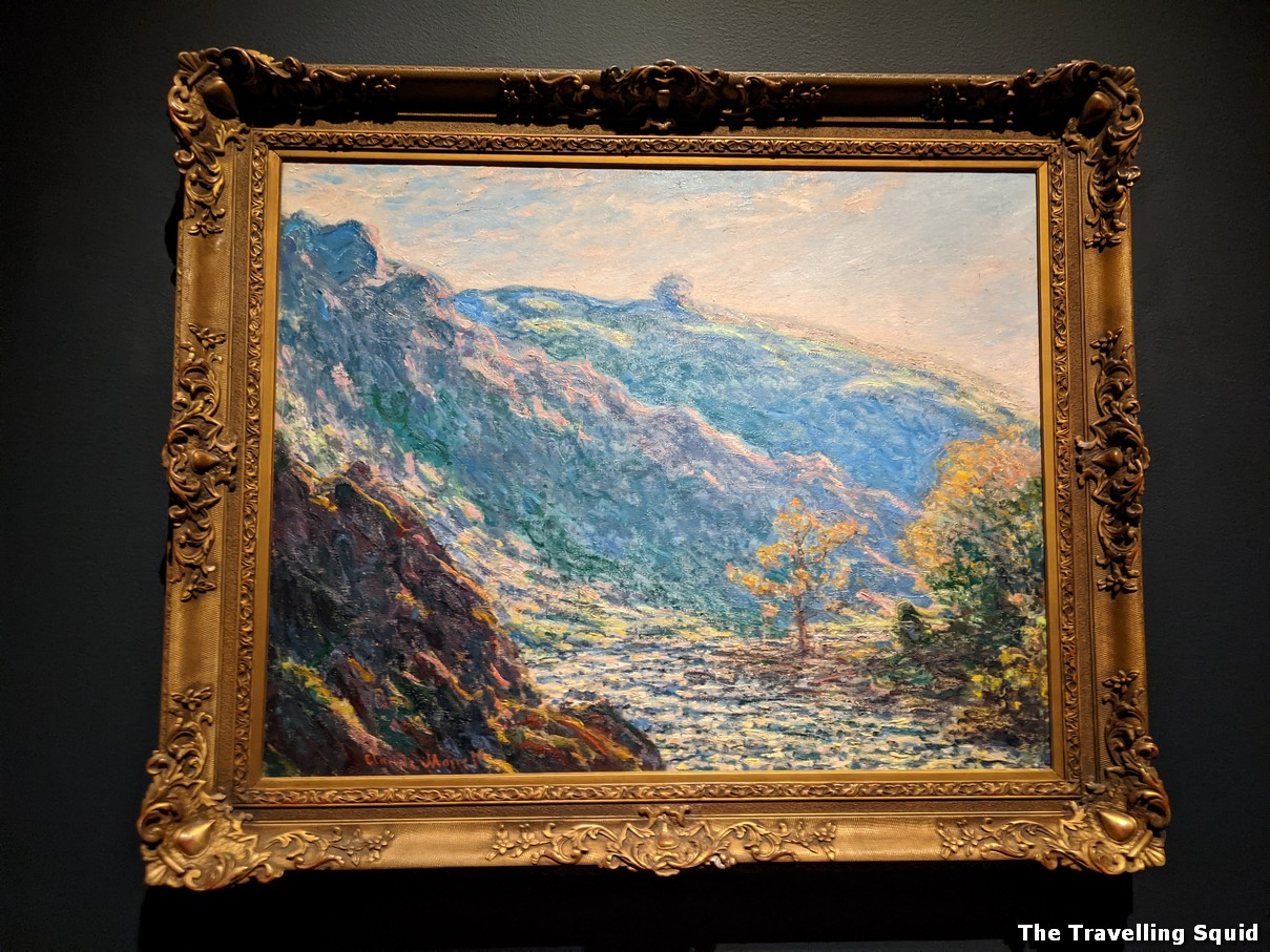 Valley of the Petite Creuse Monet and Boston exhibition at the Museum of Fine Arts
