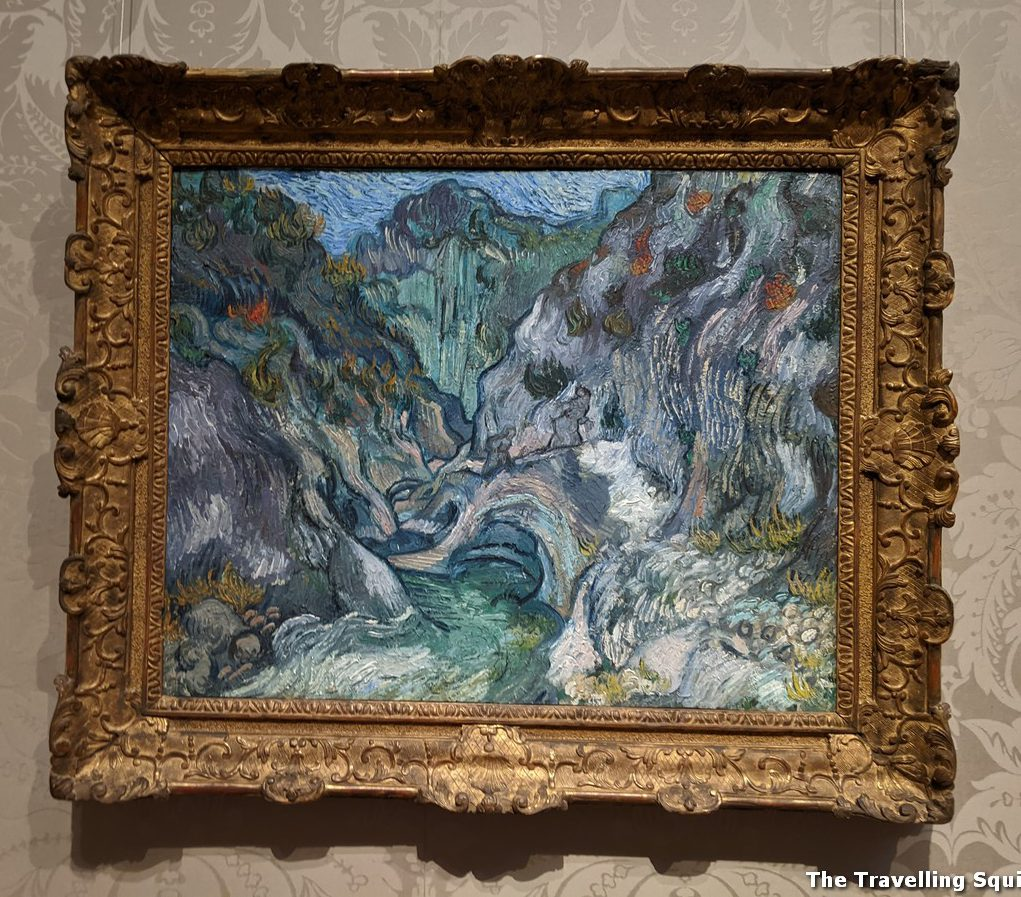 Ravine [1889] by Van Gogh boston mfa