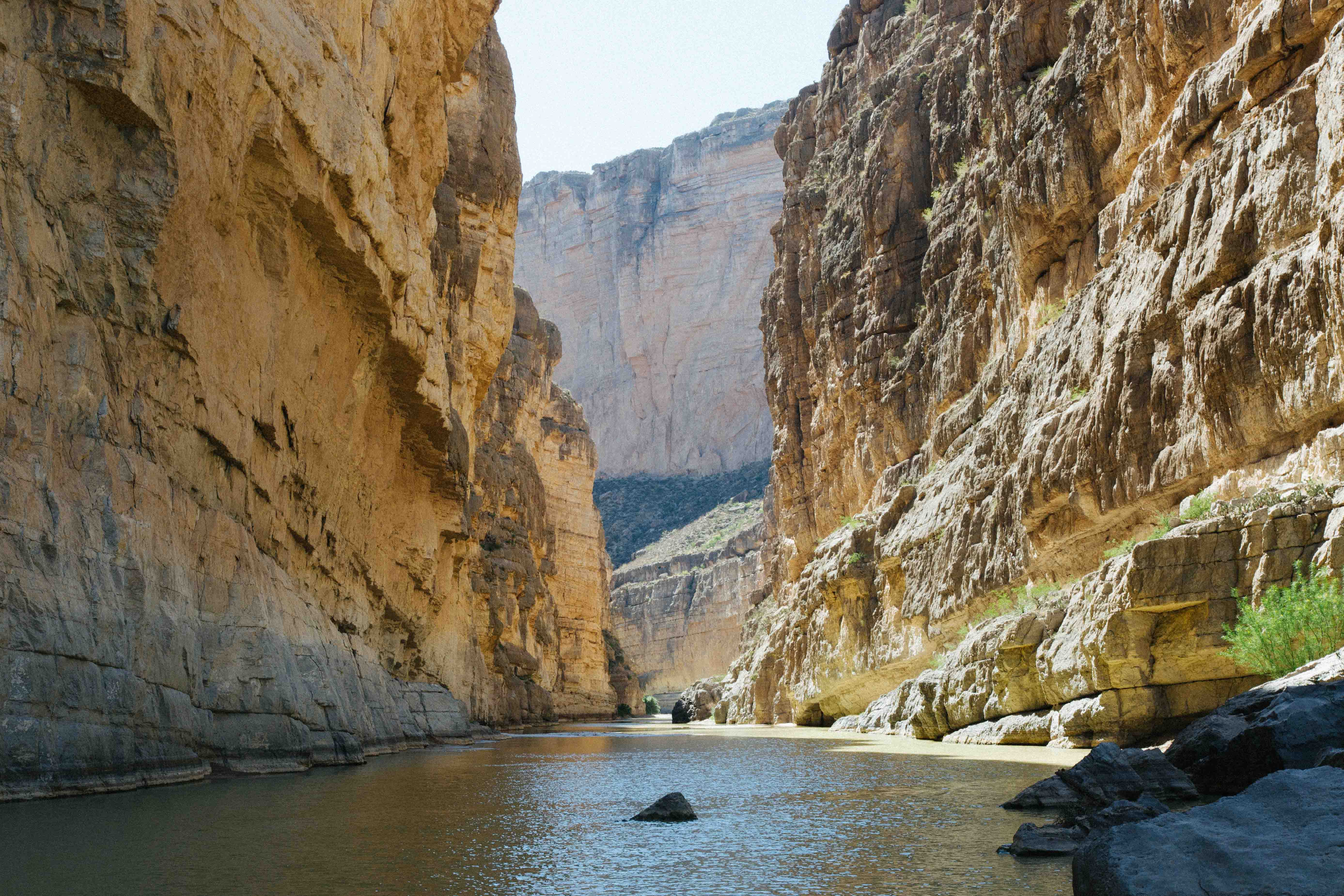 Santa Elena Canyon in Texas
