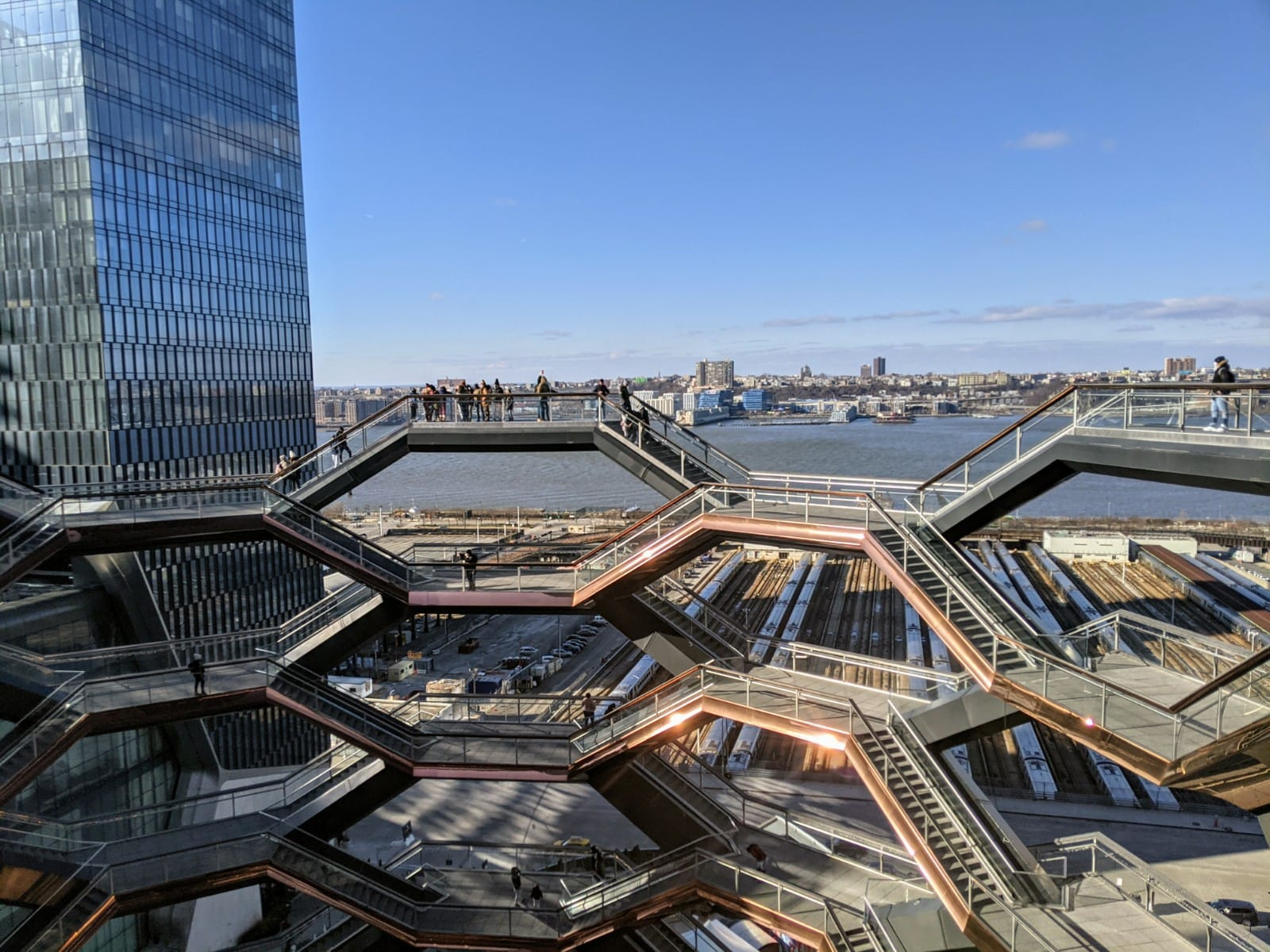 Vessel at Hudson Yards in new york city