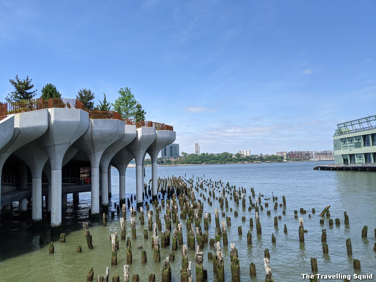 Visiting Little Island at Pier 55 in New York City
