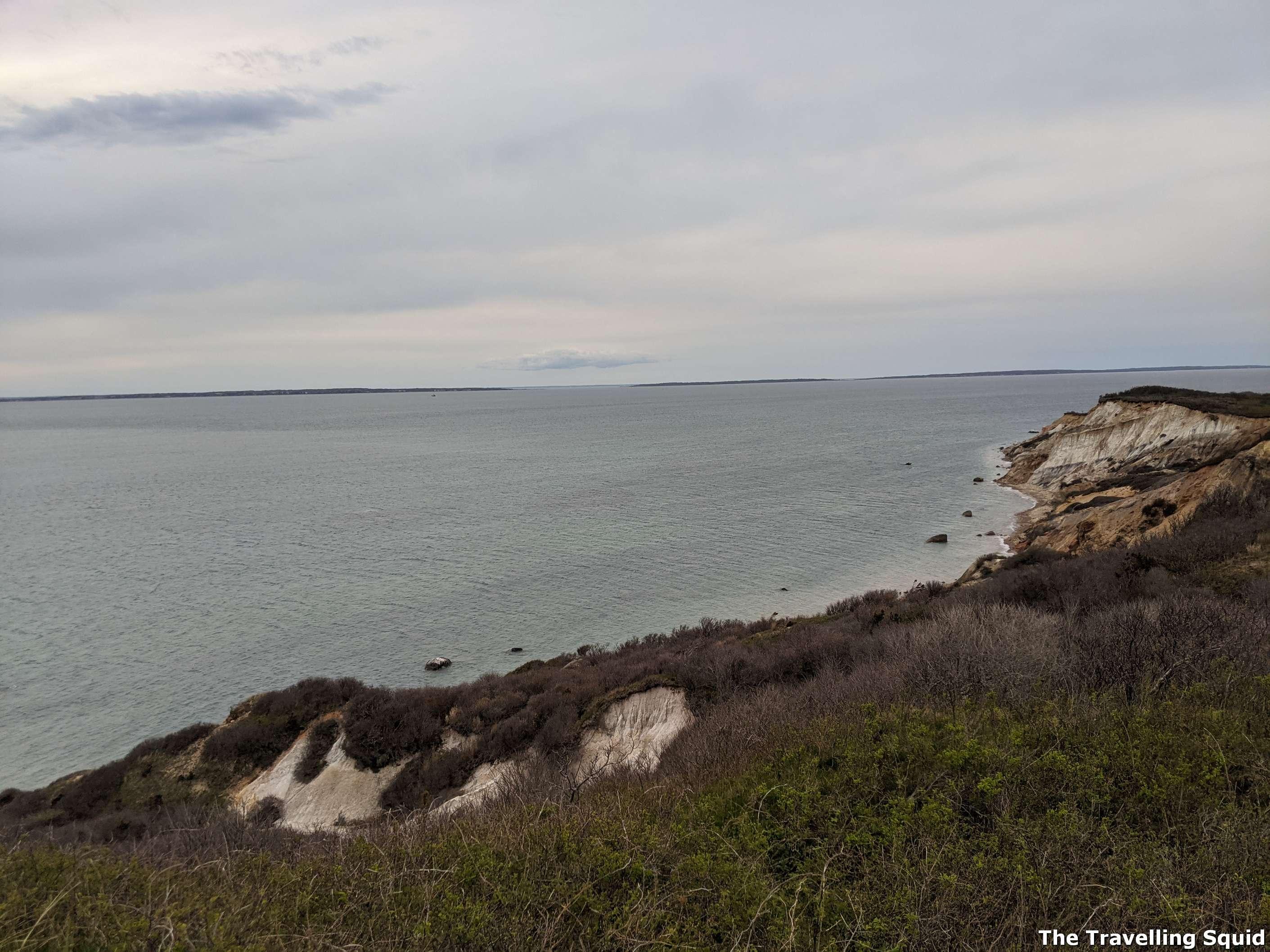 Aquinnah Cliffs Overlook Marthas Vineyard